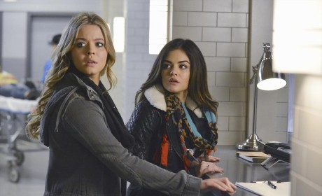 Ali and Aria at the Hospital