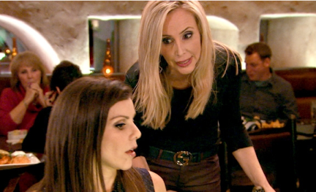 Choose a side on The Real Housewives of Orange County.