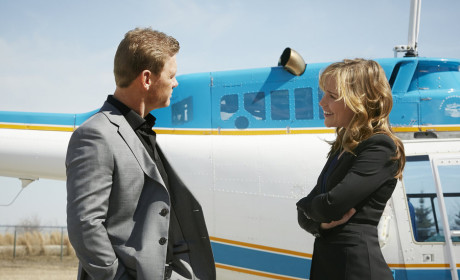 Annie and Ryan Meet at the Airport