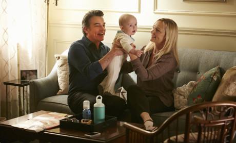 Joan, Arthur and Baby Mackenzie