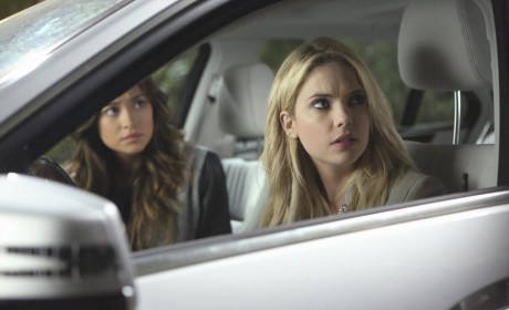 Hanna and Emily Pull Up