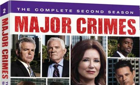 Major Crimes DVD