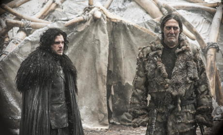 Jon Snow and Mance