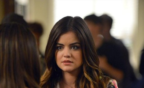 Aria Doesn't Look Happy
