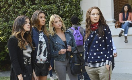Pretty Little Liars 100th Episode Pics: Returns A Go Go