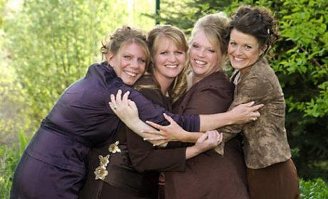 Sister Wives Hug