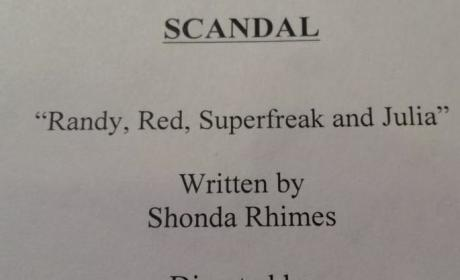 Scandal Season Premiere to Be Titled...