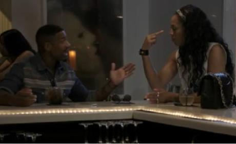Stevie J and Mimi