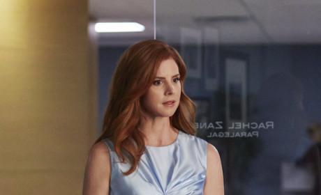 Donna Looks Annoyed