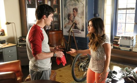Hashing it Out - Pretty Little Liars Season 5 Episode 10