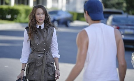 Caleb in Street - Pretty Little Liars Season 5 Episode 10