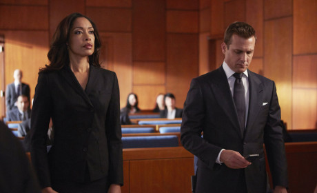 At Court re Pearson Specter - Suits Season 4 Episode 9