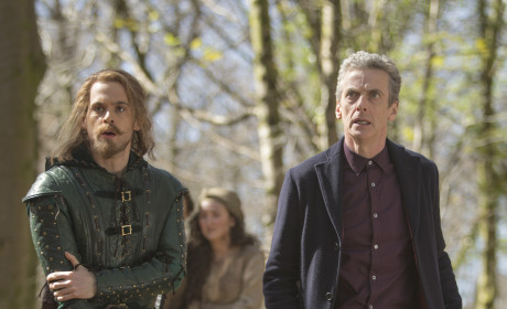Robin and The Doctor - Doctor Who Season 8 Episode 3
