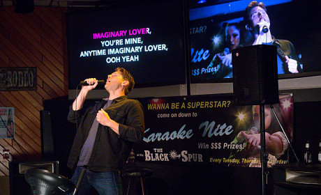 Supernatural Season 10 Premiere Pics: Demon Karaoke!