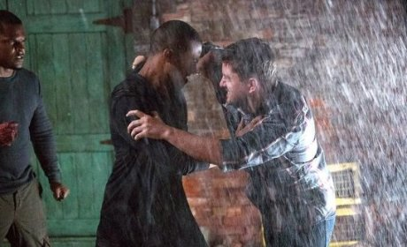 Fighting with Marcel - The Originals Season 2 Episode 1