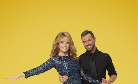 Lea Thompson and Artem Chigvintsev - Dancing With the Stars