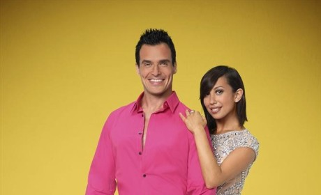 Antonio Sabato Jr. and Cheryl Burke  - Dancing With the Stars