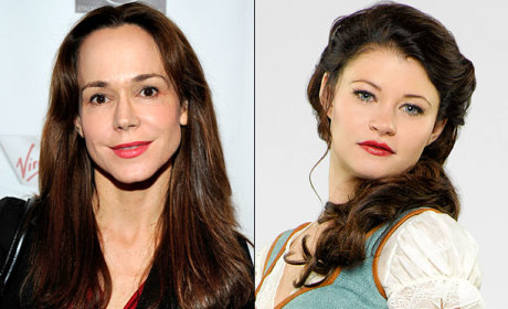 Once Upon a Time Casts Belle's Mom!