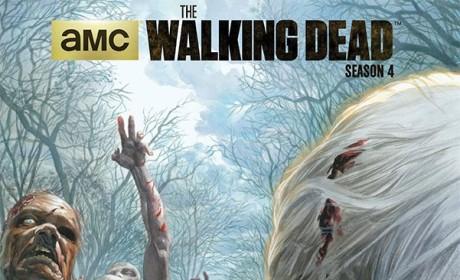 Zombie Poster - The Walking Dead
