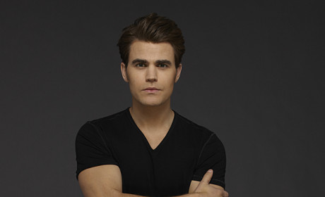 Paul Wesley Promo Image - The Vampire Diaries