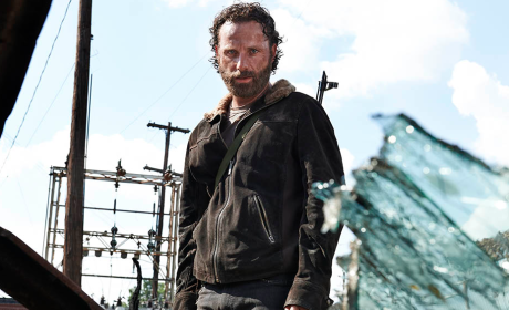 Andrew Lincoln as Rick in The Walking Dead Season 5