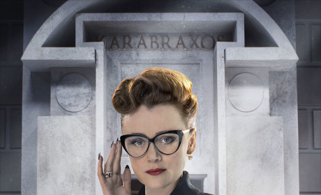 Keeley Hawes as Mrs. Delphox - Doctor Who Season 8 Episode 5