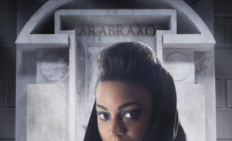 Pippa Bennett-Warner as Saibra - Doctor Who Season 8 Episode 5