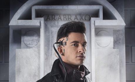 Jonathan Bailey as Psi - Doctor Who Season 8 Episode 5