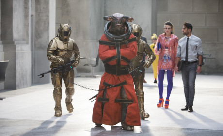 Teller in Chains - Doctor Who Season 8 Episode 5