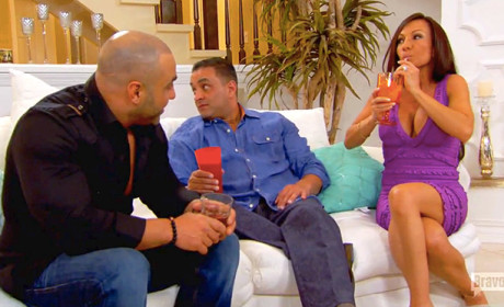 Drinking Gin - The Real Housewives of New Jersey Season 6 Episode 11