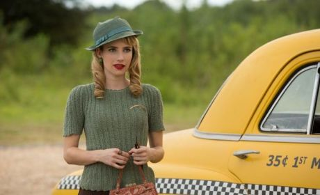 Emma Roberts on the Freak Show - American Horror Story Season 4 Episode 3