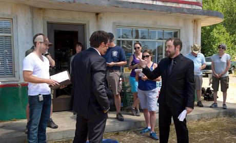 Director Ackles - Supernatural Season 10 Episode 3