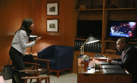 Olivia Confronts Rowan - Scandal Season 4 Episode 5