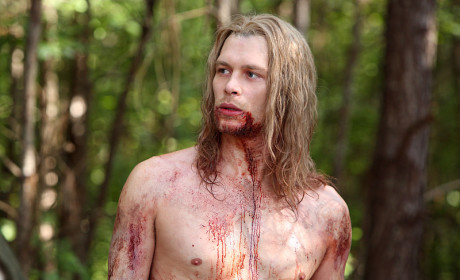 Beaten and Bloody Klaus - The Originals Season 2 Episode 5
