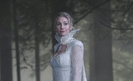In the Woods in White - Once Upon a Time Season 4 Episode 5