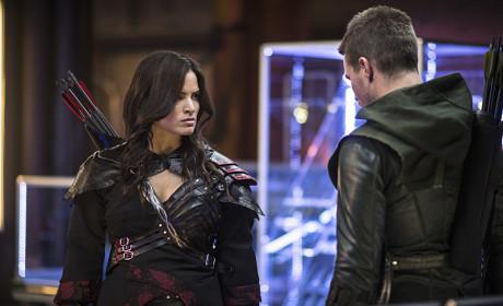 Angry Nyssa - Arrow Season 3 Episode 4