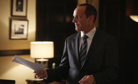 Coulson Meets with Senator Ward - Agents of S.H.I.E.L.D. Season 2 Episode 6