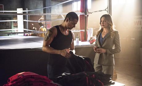 At the Gym - Arrow Season 3 Episode 5