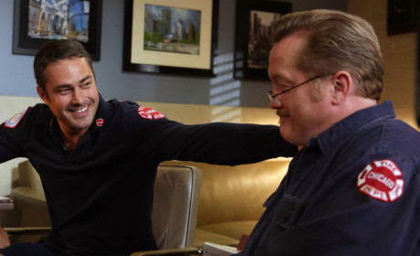 Severide and Mouch Share a Laugh - Chicago Fire Season 3 Episode 7
