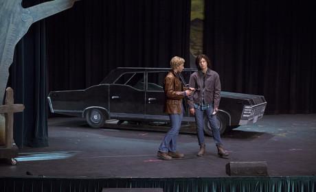 Fictional Sam and Dean - Supernatural Season 10 Episode 5