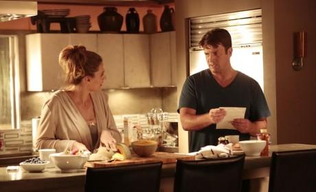 Making Breakfast - Castle Season 7 Episode 6