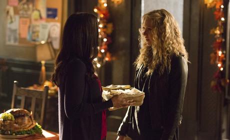 Liv on Friendsgiving - The Vampire Diaries Season 6 Episode 8
