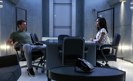 Olivia and Jake Talk - Scandal Season 4 Episode 8