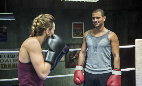 JR Ramirez Teases Murder Charges For Ted, Katie Cassidy Kicking Butt on Arrow