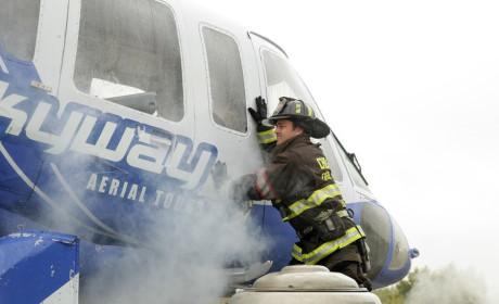 Severide attempts a break in - Chicago Fire Season 3 Episode 8
