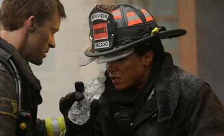 Dawson takes a water break - Chicago Fire Season 3 Episode 8