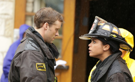 Chicago Fire Set Scoop: Monica Raymund on Missing Shay, Dawson-Casey Drama & More
