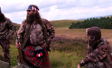 Robertsons in Scotland - Duck Dynasty