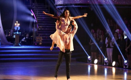 Janel and Val's Contemporary Routine - Dancing With the Stars Season 19 Episode 10