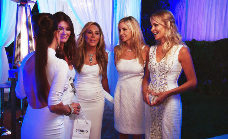 The Real Housewives of Beverly Hills Recap: Guess Who's Coming to the White Party?